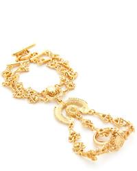 Oscar de la Renta Charm Bracelet Ring