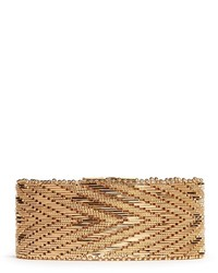 Givenchy Chevron Metal Chain Bracelet