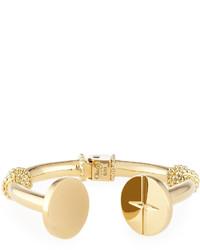 Chloé Chloe Frankie Brass Cuff Bracelet
