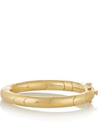 Eddie Borgo Circle Prism Gold Plated Bangle