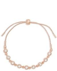 Topshop Crystal Link Bracelet