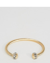 Designb London Designb Bangle Cuff Bracelet In Gold To Asos