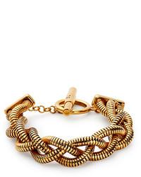 Diane von Furstenberg Gemma Braided Chain Toggle Bracelet