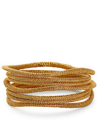 Diane von Furstenberg Thea Mesh Bangle Bracelet Set