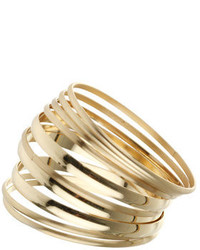 Dorothy Perkins Multi Finish Gold Bangles