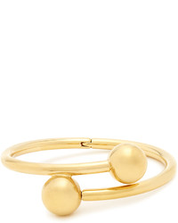 J.W.Anderson Double Sphere Gold Plated Bangle