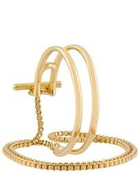 Eddie Borgo Cuff Multi Bracelet