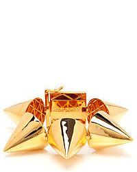 Eddie Borgo Extra Large Gold Plated Cone Bracelet