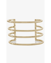 Express Cut Out Metal Cuff Bracelet