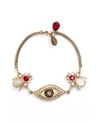 Alexander McQueen Eye Bug Bracelet