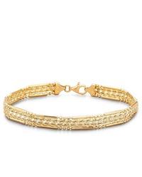 FINE JEWELRY 10k Gold Woven Rope Bracelet