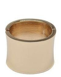 FINE JEWELRY Paloma Ellie Gold Tone Crystal Cuff Bracelet