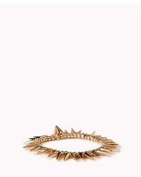 Forever 21 Spiked Stretch Bracelet