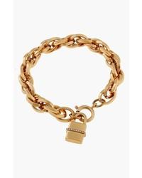 Rachel Zoe Gavriel Padlock Charm Bracelet
