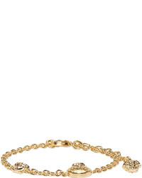 Versace Gold Chain Medusa Bracelet