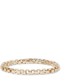Luis Morais Gold Diamond Link Bracelet