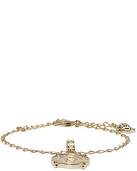 Versace Gold Infinity Medallion Bracelet