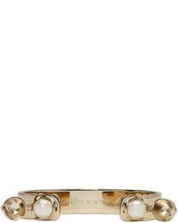 Maison Margiela Gold Pearl Bracelet