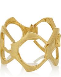 Alexander McQueen Gold Plated Bracelet