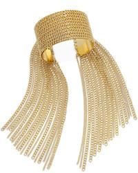 Thalia Sodi Gold Tone Chain Fringe Cuff Bracelet Only At Macys