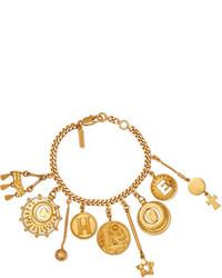Chloé Gold Tone Charm Bracelet