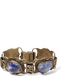 Etro Gold Tone Crystal Bracelet
