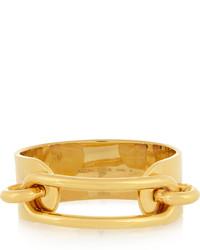 Balenciaga Gold Tone Cuff