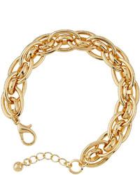 Lydell NYC Golden Chain Bracelet