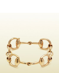 Gucci Horsebit Bracelet In Yellow Gold