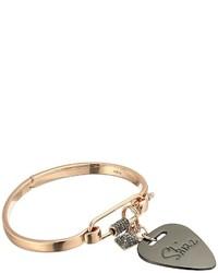 Rebecca Minkoff Guitar Pick Hinged Cuff Bracelet Bracelet