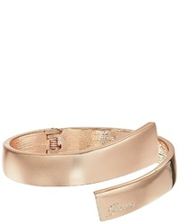 GUESS Hinged Bypass Bangle Bracelet