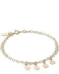 Nashelle Identity Love Drops Chain Bracelet