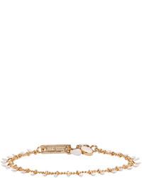 Isabel Marant Gold Ecru Casablanca Chain Bracelet