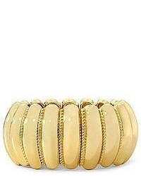 jcpenney Monet Jewelry Monet Gold Tone Rope Large Stretch Bracelet
