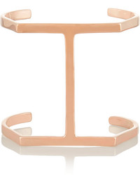 Jennifer Fisher Single Bar Rose Gold Plated Cuff