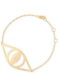 Jennifer Zeuner Jewelry Jennifer Zeuner Alba Evil Eye Bracelet With Diamond