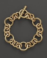 John Hardy Classic Chain 18k Yellow Gold Small Link Bracelet