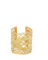 Julia Burness Gold Lost Lace Mariska Cuff