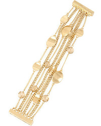 Kenneth Cole New York Mixed Metal Multi Chain Bracelet
