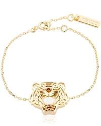 Kenzo Tiger Logo Chain Bracelet