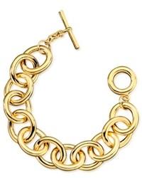 Lauren Ralph Lauren Gold Tone Link Bracelet