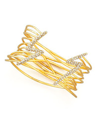 Alexis Bittar Lightning Bolt Cuff Bracelet