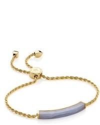 Monica Vinader Linear Stone Friendship Bracelet