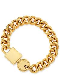 Marc by Marc Jacobs Lock In Golden Statet Bracelet