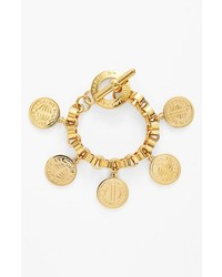 Marc by Marc Jacobs Toggles Turnlocks Charm Bracelet Gold
