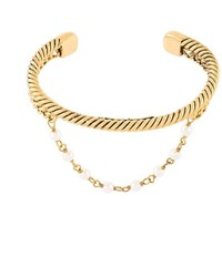 Marc Jacobs Faux Pearl Strand Bangle