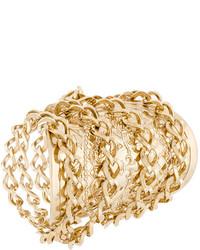 Balmain Medal Cuff Bracelet