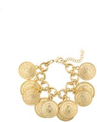 Balmain Medallion Chain Bracelet