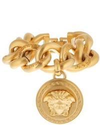 Versace Medusa Charm Chain Bracelet