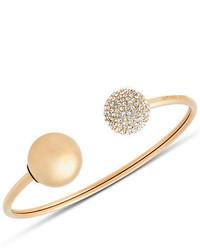 Michael Kors Michl Kors Pav Crystal Open Flexi Cuff Bracelet